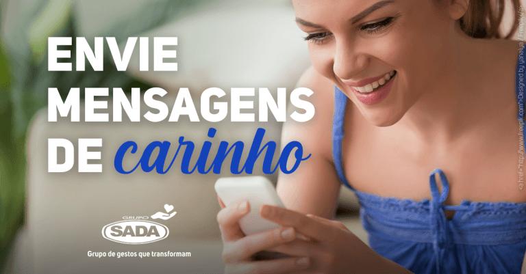 ENVIE MENSAGENS DE CARINHO